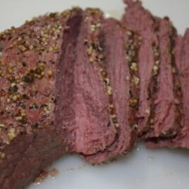 Corn Beef Brisket Recipe in Pressure Cooker
