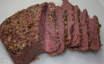 Corn Beef Brisket Recipe in Pressure Cooker