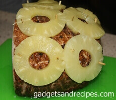 Pineapple Glazed Spiral Ham