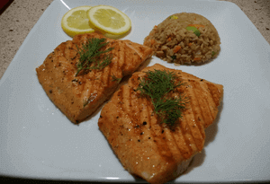 Brown Sugar Salmon