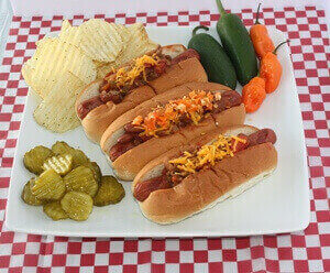 Best Chili Hot Dogs