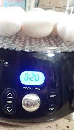 Hard Boiled Egg Time
