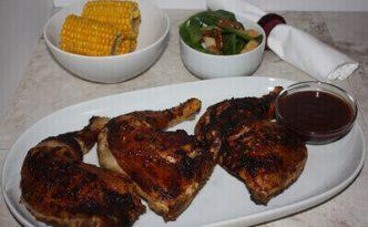 BBQ Chicken Quarters