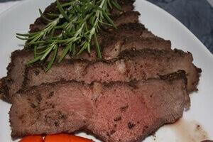 Beef Sirloin Tip Roast Recipe Close
