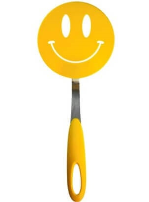 Tovolo Spatulart Smiley Face Nylon Flex Turner