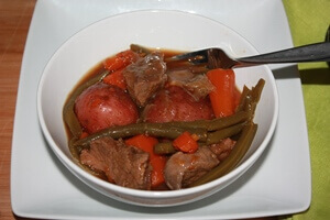 Beef Stew in a Pressure Cooker