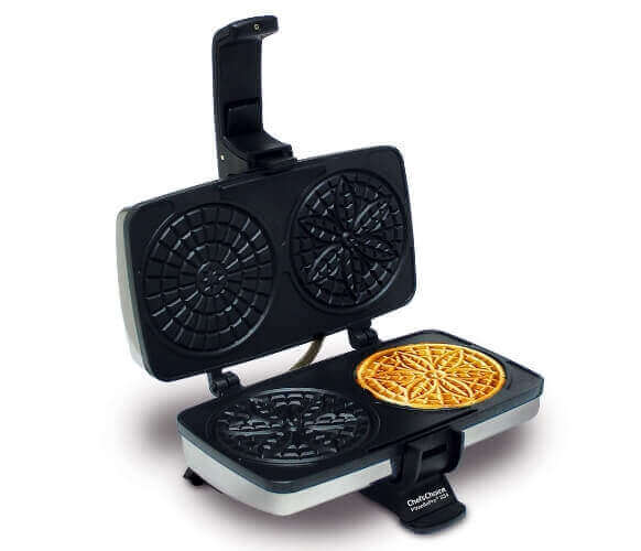 Chefs Choice 834 Pizzelle Pro Express Bake
