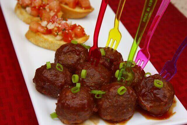 Cranberry Appetizer Meatballs