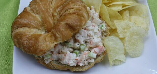 Shrimp Salad Recipe Sandwich
