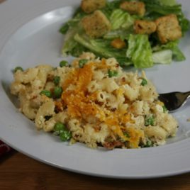 Chicken and Bacon Ranch Pasta Casserole