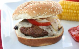 Grilled Hamburger