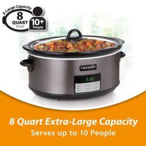 Crock Pot Slow Cooker 8 Qt