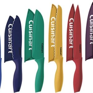Cuisinart 12 Piece Color Knife Set with Blade Guard