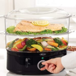Quart Healthy Food Steamer with 2-Tier Stackable Baskets4