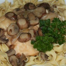 Chicken Marsala and Mushrooms Recipe