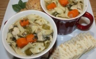 Homemade Chicken Noodle Soup Scratch When Sick