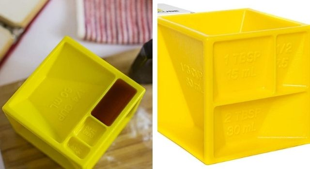 Kitchen Gadgets All-in-One Measuring Cube
