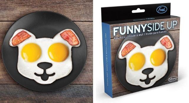 Kitchen Gadgets Funny Side Up Dog Egg Mold