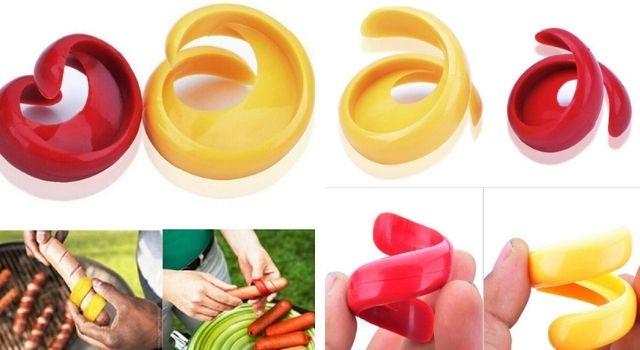 Sausage and Hot Dog Spiral Cutter