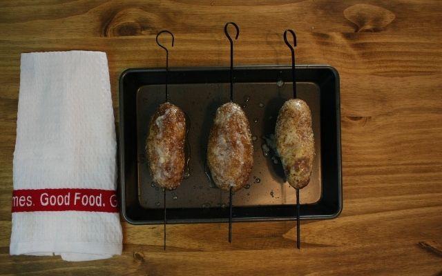 Shewer Baked Russet Potatoes