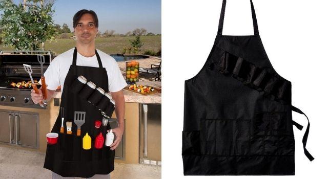 Unusual Kitchen Gadgets Black Grill Master Apron