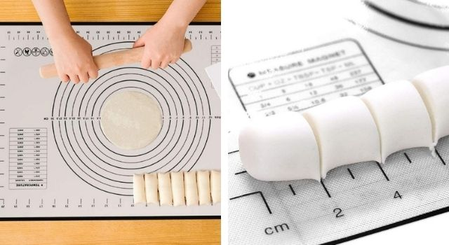 Unusual Kitchen Gadgets Pastry Mat with Measurements