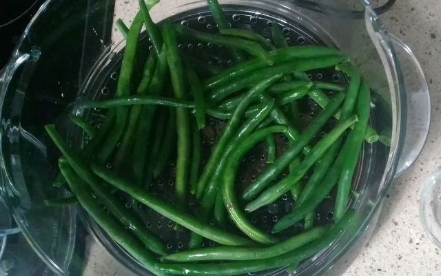 Steamed String Beans