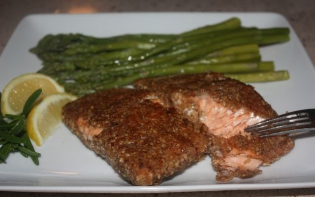 The Best Baked Salmon Recipe Ever Pecan and Brown Sugar Salmon