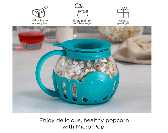 Microwave Micro-Pop Popcorn Popper
