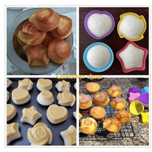 Reusable Baking Cups Nonstick