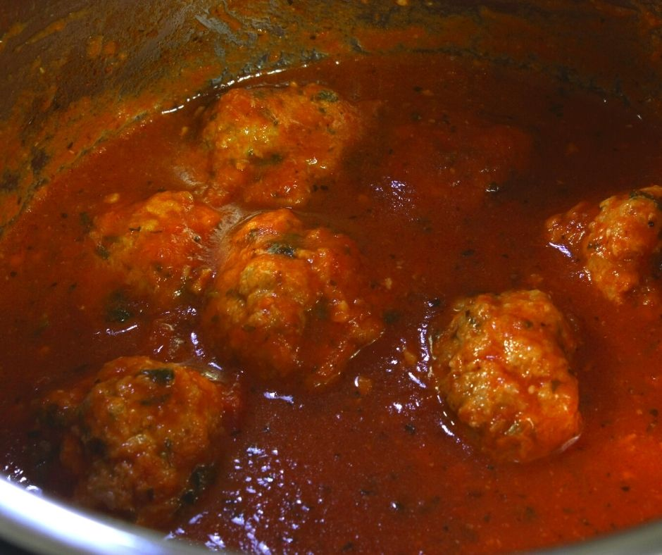 Recipes for Ground Turkey Meatballs in Pressure Cooker